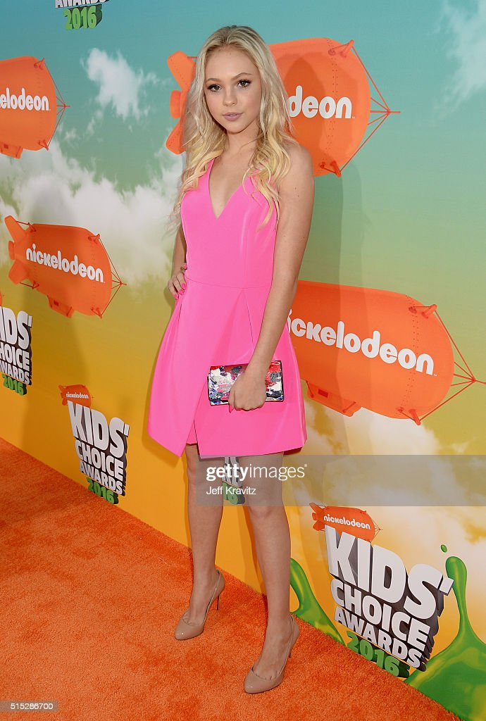 Actress Jordyn Jones attends Nickelodeon's 2016 Kids' Choice Awards at The Forum on March 12, 2016 in Inglewood, California.