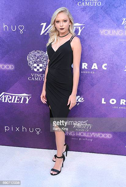 Actress Jordyn Jones attends Variety's Power of Young Hollywood event presented by Pixhug with platinum sponsor Vince Camuto at NeueHouse Hollywood...