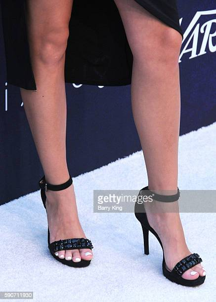 Actress Jordyn Jones shoe detail attends Variety's Power of Young Hollywood event presented by Pixhug with platinum sponsor Vince Camuto at NeueHouse...