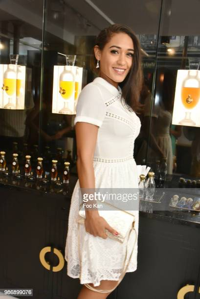 Actress Josephine Jobert attends Maison Caron Marais Boutique Opening on June 28 2018 in Paris France