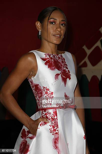 Actress Josephine Jobert attends the Christophe Guillarme show as part of the Paris Fashion Week Womenswear Spring/Summer 2017 on September 28 2016...