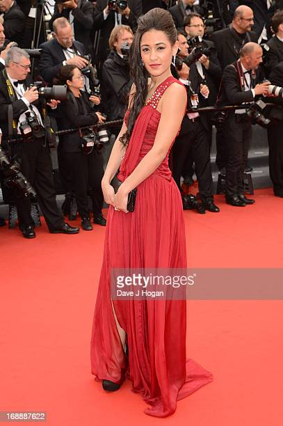 Actress Josephine Jobert attends the 'Jeune Jolie' premiere during The 66th Annual Cannes Film Festival at the Palais des Festivals on May 16 2013 in...