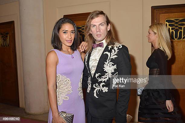 Actress Josephine Jobert dressed by Christophe Guillarme attend '23rd Gala Pour L'Espoir 2015' Auction Show To Benefit Against Cancer Associations at...