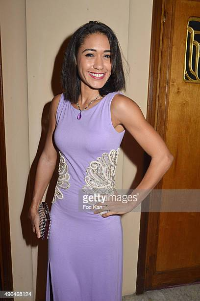 Actress Josephine Jobert dressed by Christophe Guillarme attends '23rd Gala Pour L'Espoir 2015' Auction Show To Benefit Against Cancer Associations...