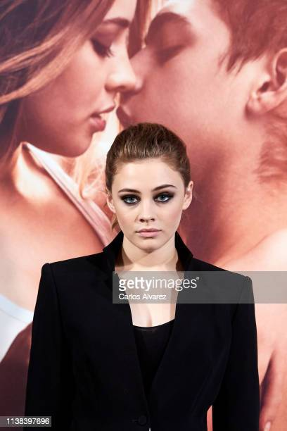 Actress Josephine Langford attends 'After Aqui Empieza Todo' photocall at the VP Hotel on March 26 2019 in Madrid Spain