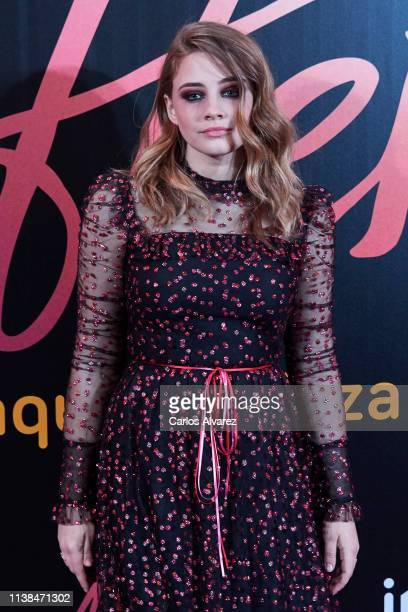 Actress Josephine Langford attends 'After Aqui Empieza Todo' premiere at the Capitol cinema March 26 2019 in Madrid Spain