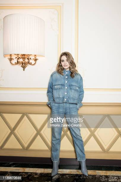 Actress Josephine Langford poses for a portrait on March 29 2019 in Milan Italy