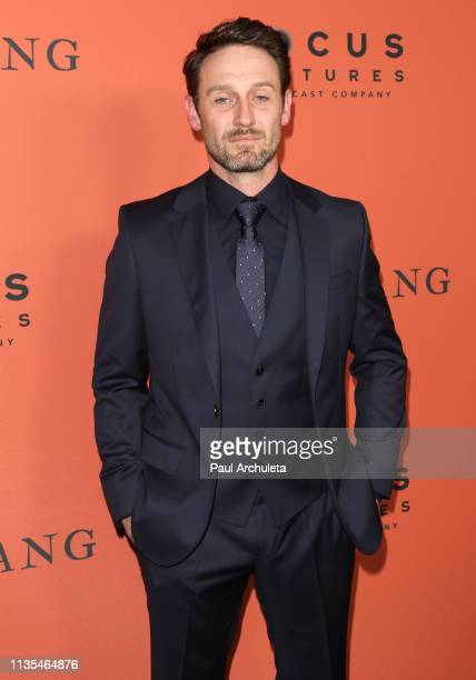 Actress Josh Stewart attends the premiere of The Mustang at ArcLight Hollywood on March 12 2019 in Hollywood California