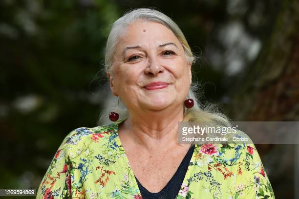 """Actress Josiane Balasko attends the """"La Piece Rapportee"""" Photocall at 13th Angouleme French-Speaking Film Festival on August 29, 2020 in Angouleme,..."""