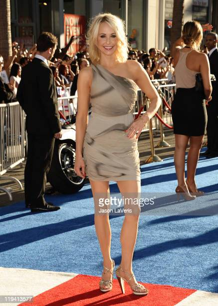Actress Josie Bissett attends the premiere of Captain America The First Avenger at the El Capitan Theatre on July 19 2011 in Hollywood California
