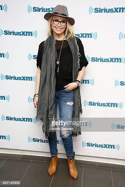 Actress Josie Bissett visits the SiriusXM studios on June 22 2016 in New York City