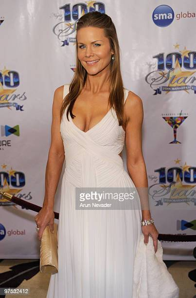 Actress Josie Davis attends The 20th Annual Night Of 100 Stars Awards Gala at Beverly Hills Hotel on March 7 2010 in Beverly Hills California
