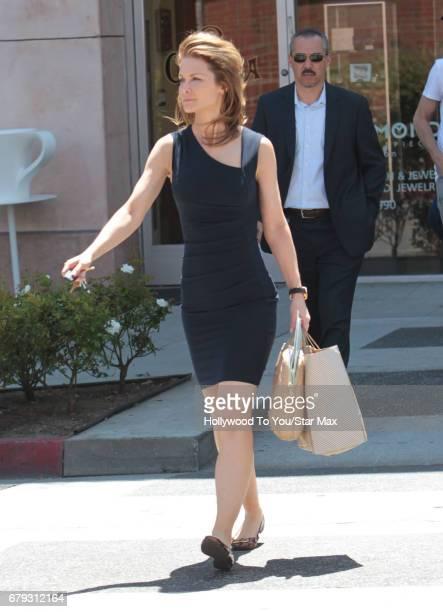 Actress Josie Davis is seen on May 4 2017 in Los Angeles California