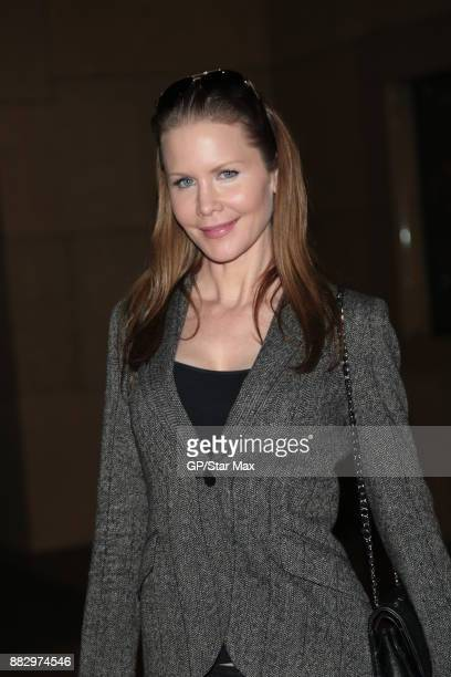 Actress Josie Davis is seen on November 29 2017 in Los Angeles CA