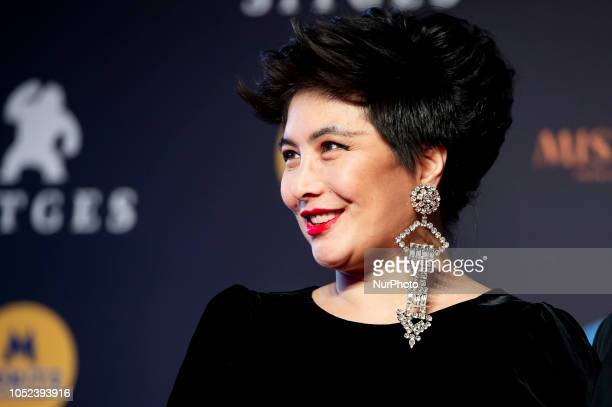 Actress Josie Ho at the closing ceremony during the 51 edition of Festival Internacional de Cinema Fantastic de Catalunya Sitges 2018 in Sitges...