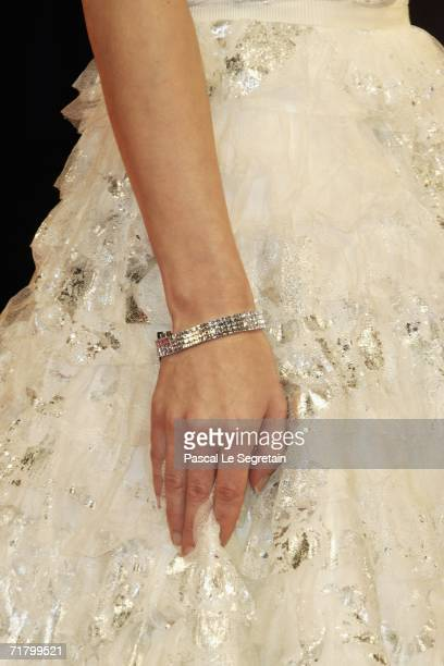 Actress Josie Ho attends the premiere of the film 'Exiled' during the eight day of the 63rd Venice Film Festival on September 6 2006 in Venice Italy