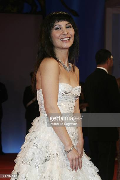 Actress Josie Ho attends the premiere to promote the film 'Exiled' during the eight day of the 63rd Venice Film Festival on September 6 2006 in...
