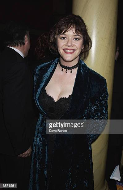 Actress Josie Lawrence at the UK Neurofibromatosis Association 20th Anniversary Gala Concert held at the Theatre Royal on 12th May 2002 in London