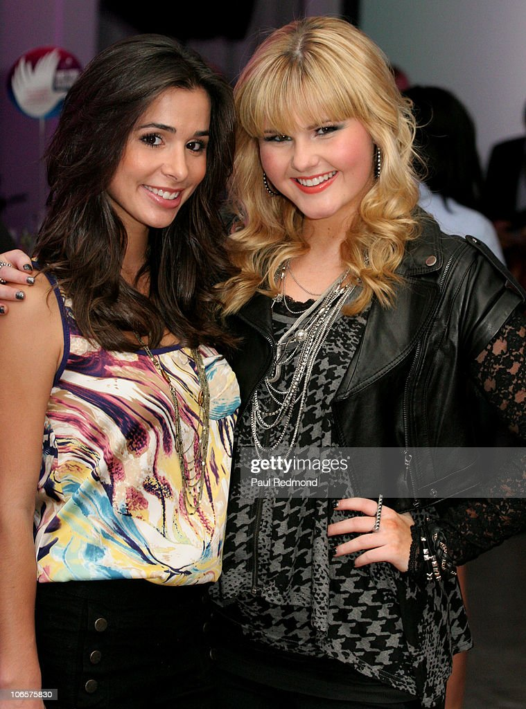 Actress Josie Loren and musician Ashlee Keating attend Variety's Girl Up Campaign Launch on November 4, 2010 in Los Angeles, California.