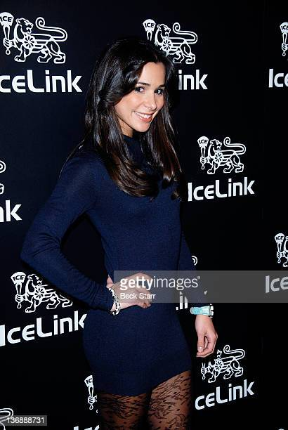Actress Josie Loren attends IceLink flagship store opening at IceLink Boutique on January 11 2012 in Los Angeles California