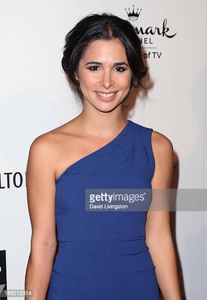 Actress Josie Loren attends the 3rd Annual American Humane Association Hero Dog Awards at The Beverly Hilton Hotel on October 5 2013 in Beverly Hills...