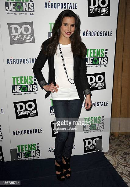 Actress Josie Loren attends the 5th annual Teens For Jeans event at Palihouse Holloway on January 10 2012 in West Hollywood California