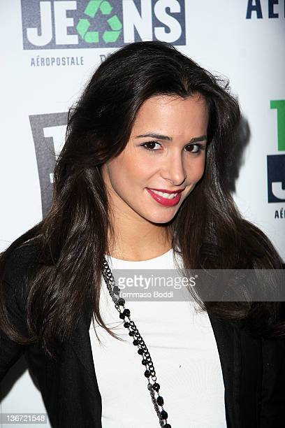 Actress Josie Loren attends the 5th annual Teens For Jeans volunteer event held at Palihouse Holloway on January 10 2012 in West Hollywood California