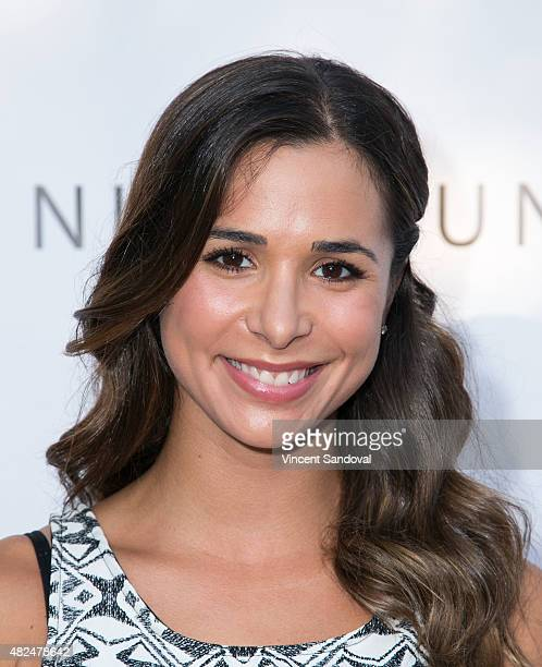 Actress Josie Loren attends the BOO2bullying's Take A Bite Out Of Bullying launch at The LGBT Center on July 30 2015 in Hollywood California
