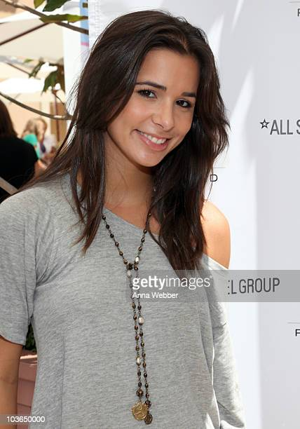 Actress Josie Loren attends the Kari Feinstein Primetime Emmy Awards Style Lounge Day 1 held at Montage Beverly Hills hotel on August 26 2010 in...