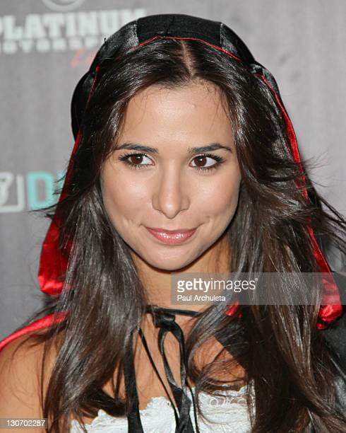 """Actress Josie Loren attends the """"Six Feet Deep"""" Halloween celebration presented by VEVO and powered by Dubset on October 27, 2011 in Los Angeles,..."""