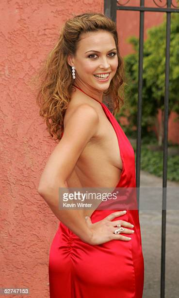 Actress Josie Maran arrives at the 7th Annual Young Hollywood Awards at the Music Box/Henry Fonda Theater on May 1 2005 in Los Angeles California