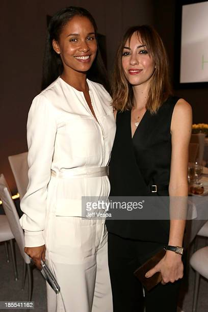 Actress Joy Bryant and director Gia Coppola attend ELLE's 20th Annual Women In Hollywood Celebration at Four Seasons Hotel Los Angeles at Beverly...