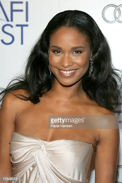 Actress Joy Bryant arrives at the AFI FEST presented by Audi opening night gala of Bobby at the Grauman's Chinese Theatre on November 1 2006 in...