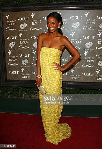 Actress Joy Bryant arrives at the Art of Elysium 2nd Annual Heaven Gala held at Vibiana on January 10, 2009 in Los Angeles, California.