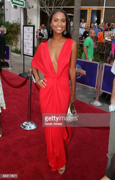 Actress Joy Bryant arrives at the premiere of Skeleton Key at Universal Studios Cinema at Universal CityWalk on August 2 2005 in Universal City...