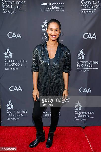Actress Joy Bryant attens the Communities In Schools Of Los Angeles Annual Gala on May 18 2015 in Pacific Palisades California