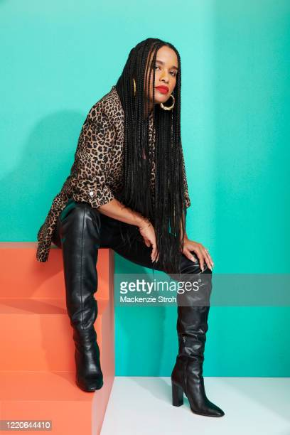 Actress Joy Bryant is photographed for Entertainment Weekly Magazine on February 27, 2020 at Savannah College of Art and Design in Savannah, Georgia....
