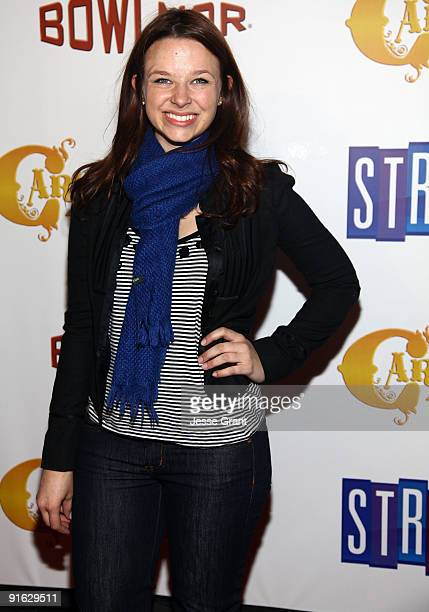 Actress Joy Lauren attends the opening of Carnival at Bowlmor Lanes on October 8, 2009 in New York City.