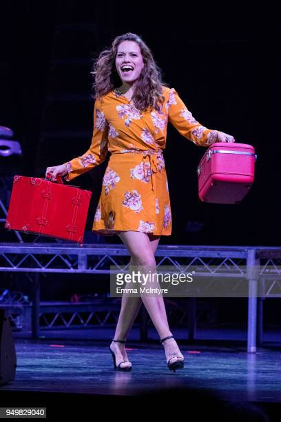 Actress Joy Lenz attends 'CATstravaganza featuring Hamilton's Cats' on April 21, 2018 in Hollywood, California.