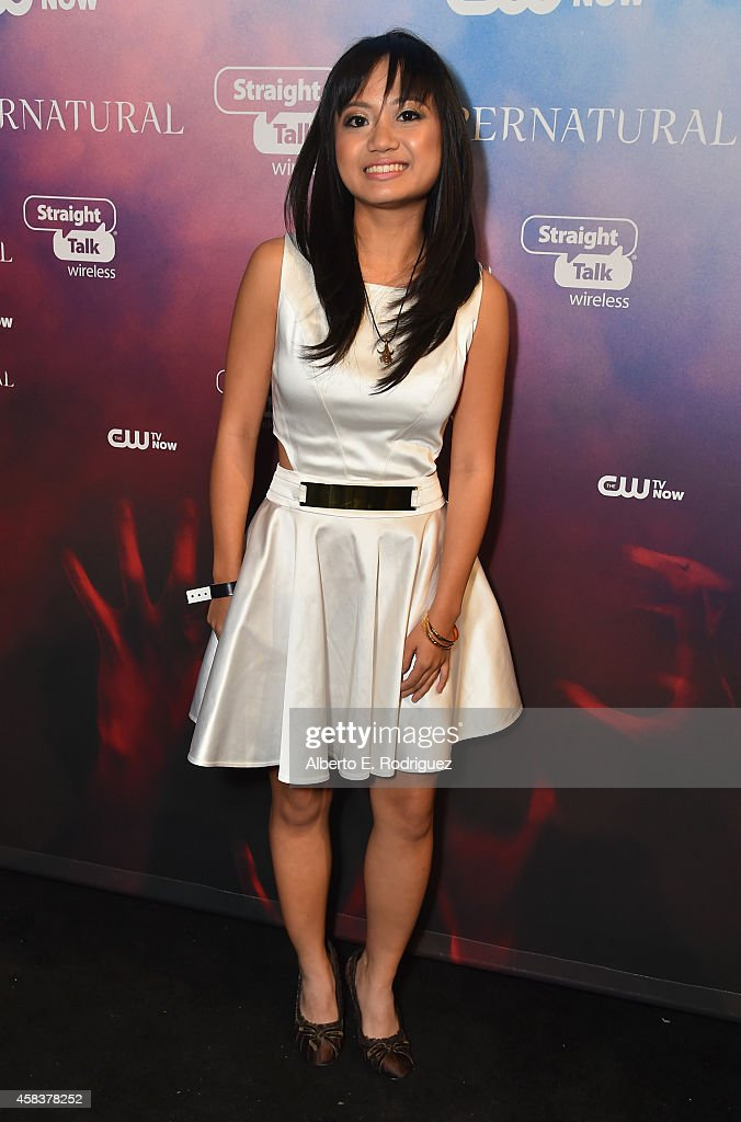 Actress Joy Regullano attends the CW's Fan Party to Celebrate the 200th episode of 'Supernatural' on November 3, 2014 in Los Angeles, California.