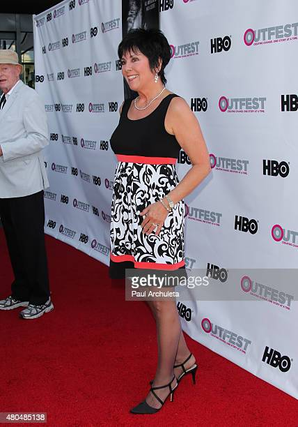 Actress Joyce DeWitt attends the screening of 'Tab Hunter Confidential' at the 2015 Outfest's LGBT Los Angeles Film Festival at Director's Guild Of...