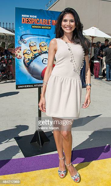Actress Joyce Giraud attends Universal Studios Hollywood Celebrates The Premiere Of New 3D Ultra HD digital Animation Adventure Despicable Me Minion...