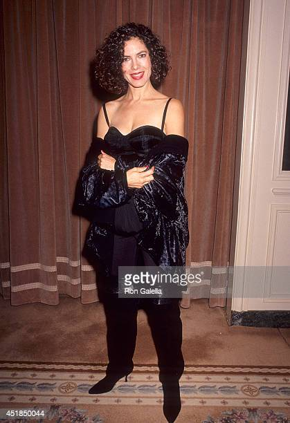 Actress Joyce Hyser attends the Center for Population Options' Seventh Annual Nancy Susan Reynolds Awards on November 13 1991 at the Regent Beverly...