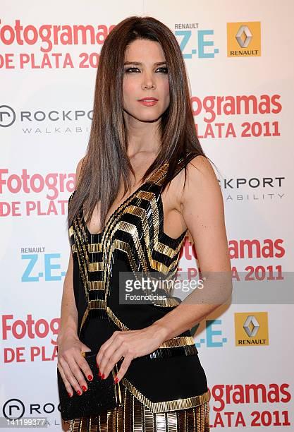 Actress Juana Acosta attends Fotogramas Awards at Joy Eslava on March 12 2012 in Madrid Spain