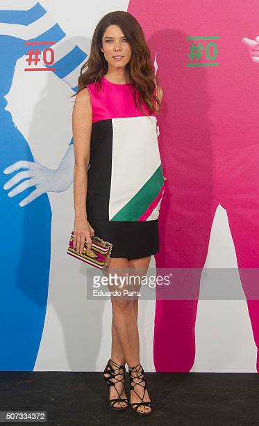 Actress Juana Acosta attends Movistar New Channel party photocall at Telefonica Flagship on January 28 2016 in Madrid Spain