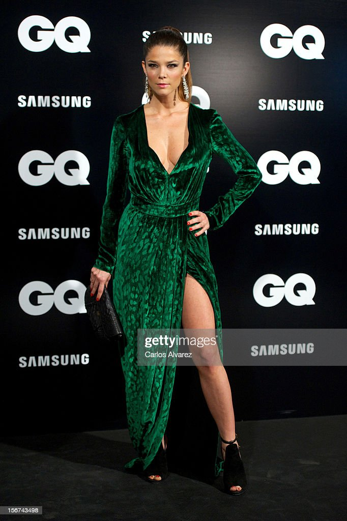Actress Juana Acosta attends the GQ Men Of The Year award 2012 at the Ritz Hotel on November 19, 2012 in Madrid, Spain.