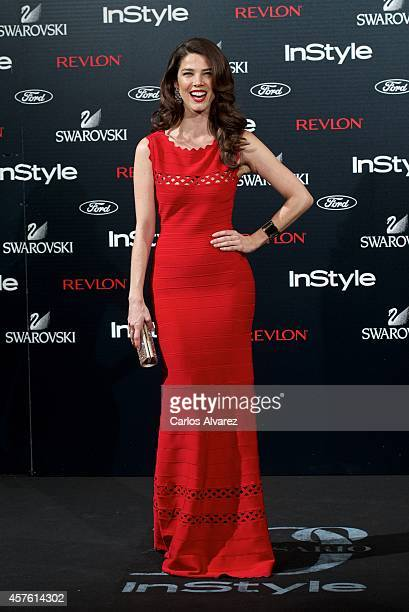 Actress Juana Acosta attends the In Style Magazine 10th Anniversary party at the Melia Fenix Hotel on October 21 2014 in Madrid Spain