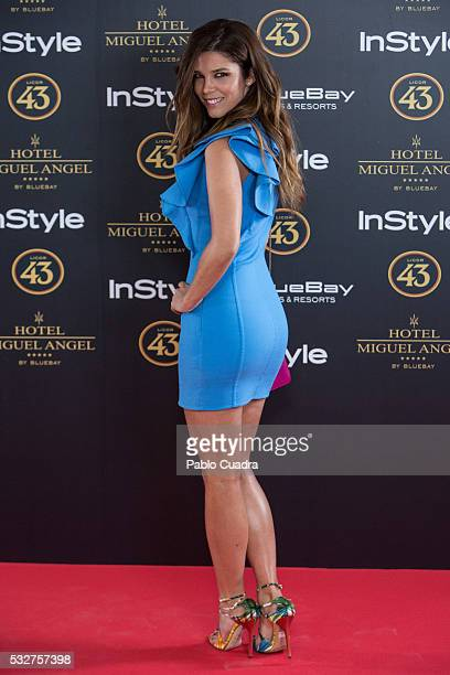 Actress Juana Acosta attends the 'Live in Colors' photocall during the InStyle Beauty Day at the Miguel Angel Hotel Garden on May 19 2016 in Madrid...