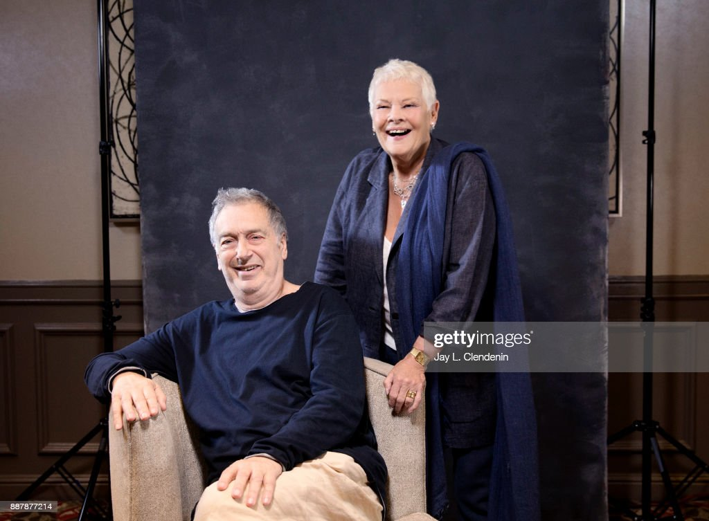 Actress Judi Dench and Stephen Frears of 'Victoria and Abdul' are photographed for Los Angeles Times on September 20, 2017 in Los Angeles, California. PUBLISHED IMAGE.