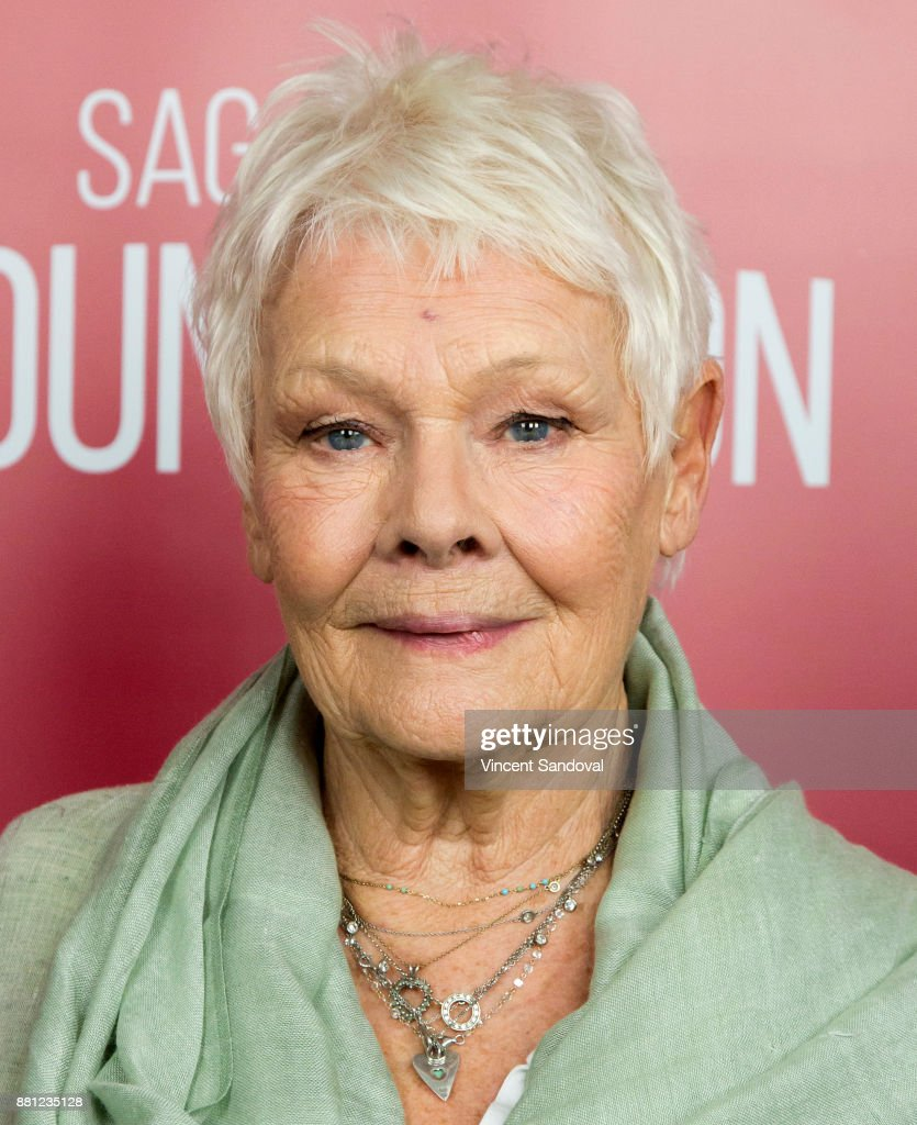 Actress Judi Dench attends SAG-AFTRA Foundation Conversations screening of 'Victoria & Abdul' at SAG-AFTRA Foundation Screening Room on November 28, 2017 in Los Angeles, California.